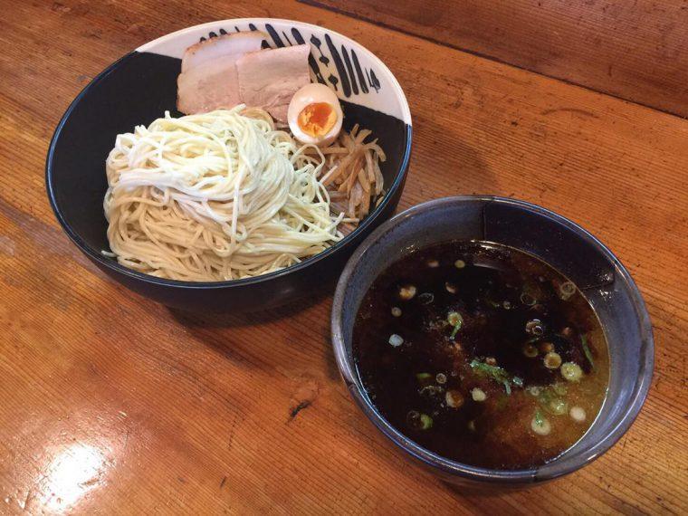 まっくろくろつけ 鶏白湯つけ麺 黒マー油仕様
